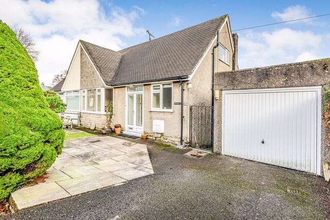 Thumbnail Semi-detached bungalow for sale in Swinnate Road, Arnside, Carnforth