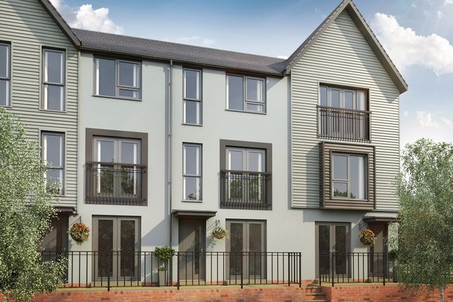 "Thumbnail Terraced house for sale in ""Haversham"" at Rhodfa Cambo, Barry"