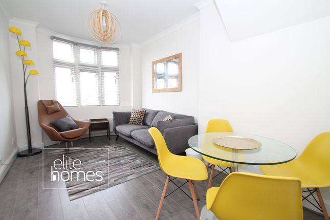 Thumbnail Flat to rent in High Road Finchley, London