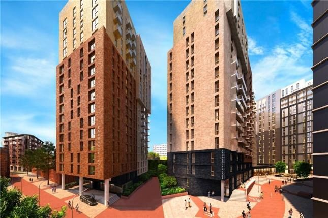 Thumbnail Flat for sale in Exchange Point, Salford, Manchester, Greater Manchester