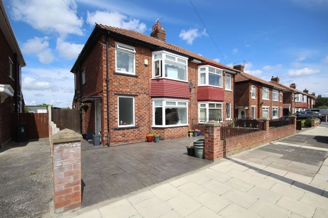 3 bed semi-detached house for sale in Ullswater Avenue, Middlesbrough TS5