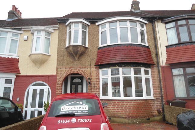 Thumbnail Terraced house to rent in Jackson Avenue, Rochester