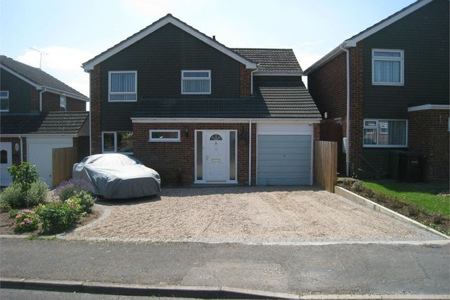 Thumbnail Detached house to rent in Whinham Avenue, Broughton Astley, Leicester