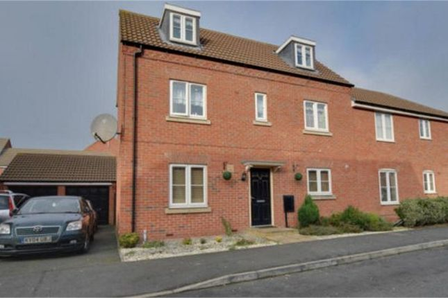 Thumbnail Terraced house for sale in Babbage Crescent, Corby, Northamptonshire