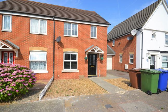 Thumbnail Semi-detached house to rent in Hill House Drive, Chadwell St. Mary, Grays