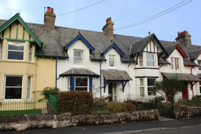 Thumbnail Terraced house for sale in Lyon Villas, Killin, Stirlingshire