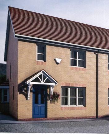 Thumbnail Semi-detached house for sale in Plot 20 (Sold) & 22 Pentrosfa Leys, Pentrosfa, Llandrindod Wells