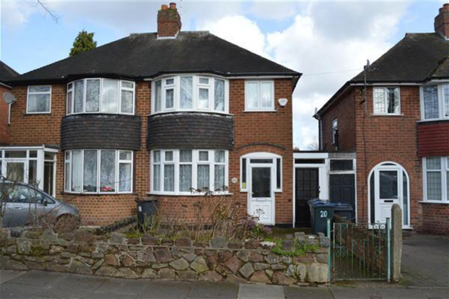 Thumbnail Semi-detached house to rent in Saxondale Avenue, Birmingham