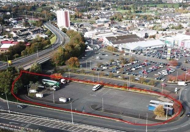 Thumbnail Land for sale in The Ramp (Circular Road) Car Park, Larne, County Antrim