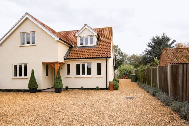 Thumbnail Detached house for sale in Lynn Road, Grimston, King's Lynn