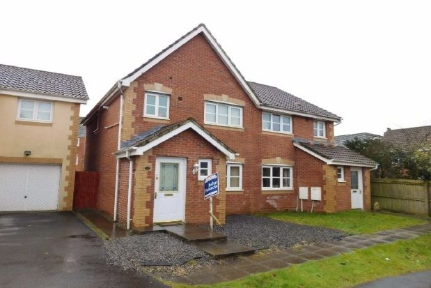 Thumbnail Semi-detached house to rent in Erw Werdd, Birchgrove, Swansea