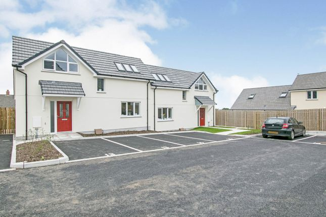 Thumbnail End terrace house for sale in Treskerby Woods, Redruth, Cornwall