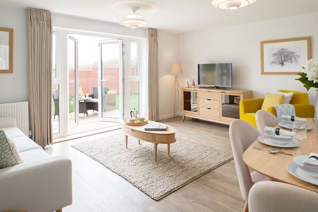 "Thumbnail Semi-detached house for sale in ""Ashworth"" at Hamble Lane, Bursledon, Southampton"