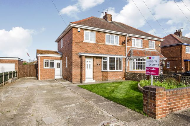 Thumbnail Semi-detached house for sale in Hawthorn Avenue, Armthorpe, Doncaster