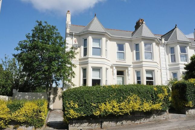 Thumbnail Semi-detached house for sale in De La Hay Villas, Stoke, Plymouth. Fabulous Double Fronted Property