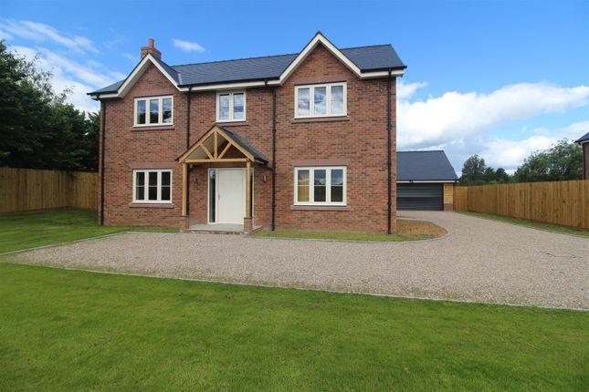 Thumbnail Detached house for sale in Darwin House, The Beeches, Shrewsbury Road, Hadnall, Shrewsbury