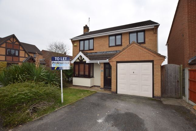 Thumbnail Detached house to rent in Farnborough Gardens, Allestree, Derby