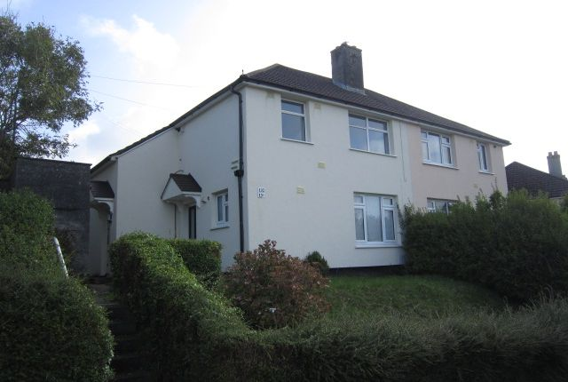 Thumbnail Flat to rent in Taunton Ave, Whitleigh, Plymouth