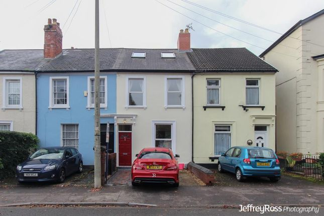 Thumbnail Terraced house to rent in Romilly Crescent, Canton, Cardiff