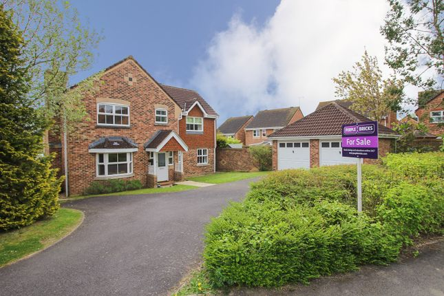 Thumbnail Detached house for sale in Kiel Drive, Andover
