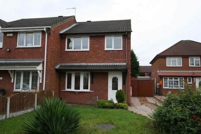 Thumbnail Semi-detached house to rent in Keasden Grove, Willenhall