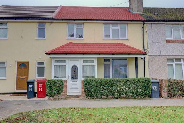 Thumbnail Terraced house for sale in Harborough Close, Cippenham, Slough