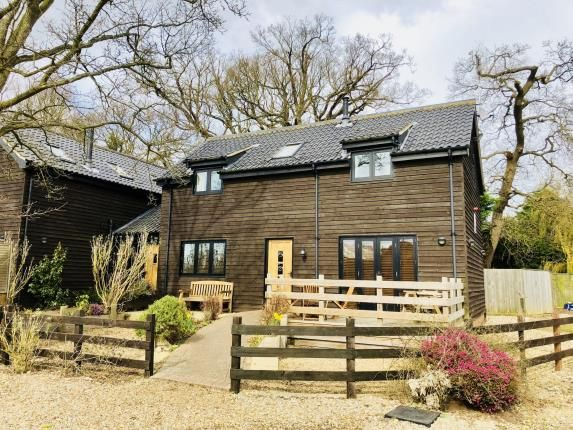 Thumbnail Link-detached house for sale in Wayford, Norwich, Norfolk