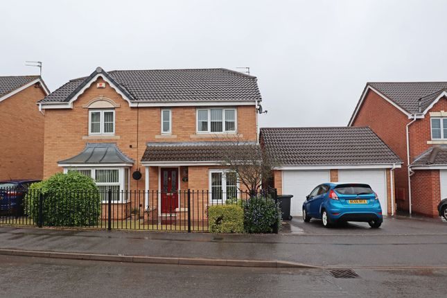 4 bed detached house for sale in Lilleburne Drive, The Shires, Nuneaton CV10