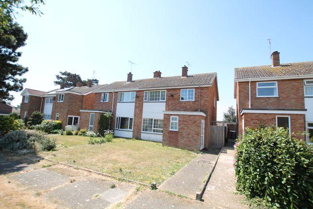 Thumbnail Semi-detached house for sale in Kendal Green, Felixstowe