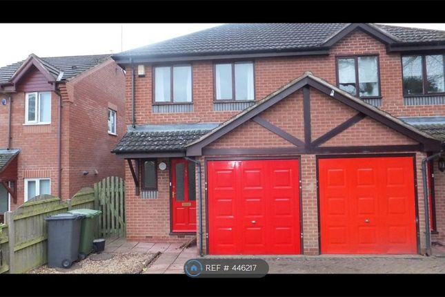 Thumbnail Semi-detached house to rent in Walkwood Road, Redditch