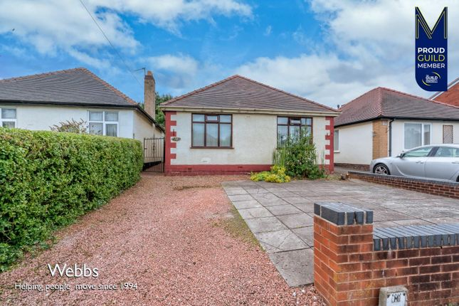 Thumbnail Detached bungalow for sale in Shaws Lane, Great Wyrley, Walsall