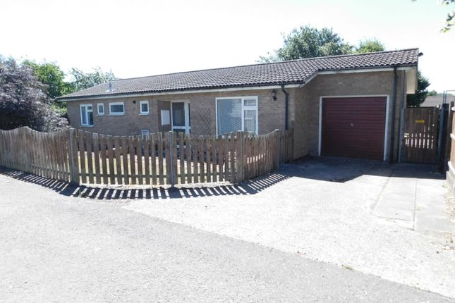 Thumbnail Detached bungalow for sale in Gothic Mede School, High Street, Arlesey
