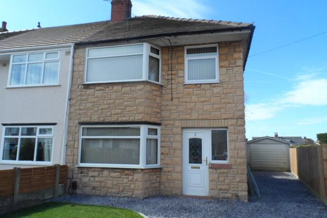 Thumbnail Semi-detached house for sale in Canada Crescent, Blackpool
