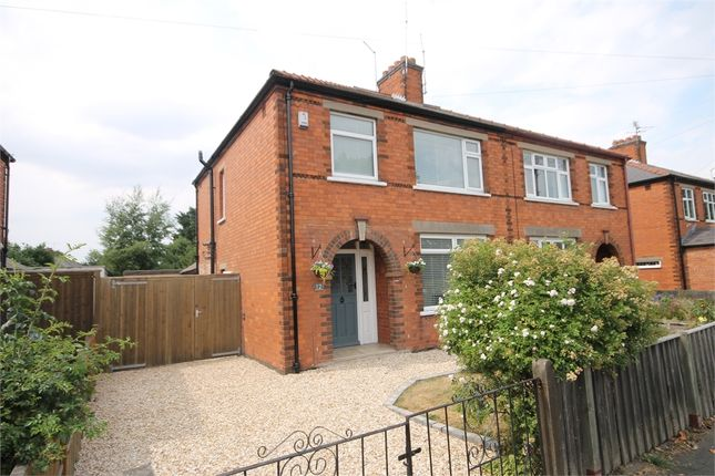 Thumbnail Semi-detached house for sale in Gladstone Road, Newark