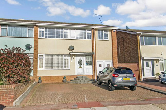 Thumbnail Semi-detached house for sale in Fairfield Crescent, Eastwood, Essex