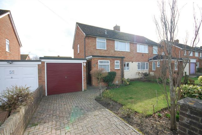 Thumbnail Semi-detached house for sale in Bedgrove, Aylesbury, Buckinghamshire