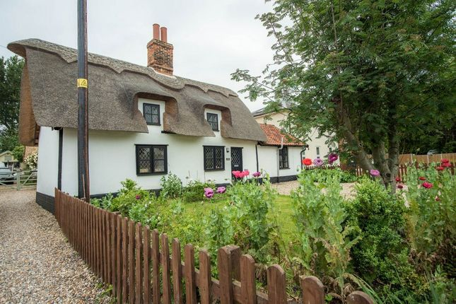 Thumbnail Detached house for sale in The Street, North Lopham, Norfolk