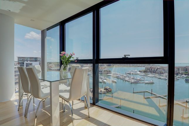 Thumbnail Flat for sale in The Hawkins Tower, Admirals Quay, Southampton, Hampshire