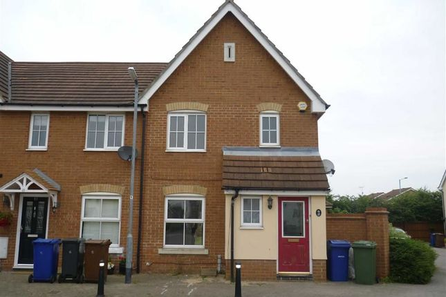 Thumbnail End terrace house to rent in Hill House Drive, Chadwell St. Mary, Grays