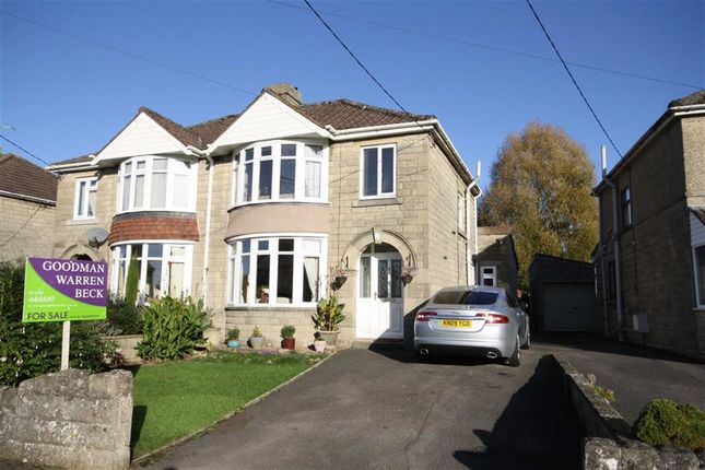Thumbnail Semi-detached house for sale in King Alfred Street, Chippenham, Wiltshire