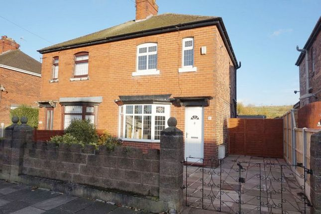 Thumbnail Semi-detached house for sale in Vivian Road, Longton, Stoke-On-Trent, Staffordshire
