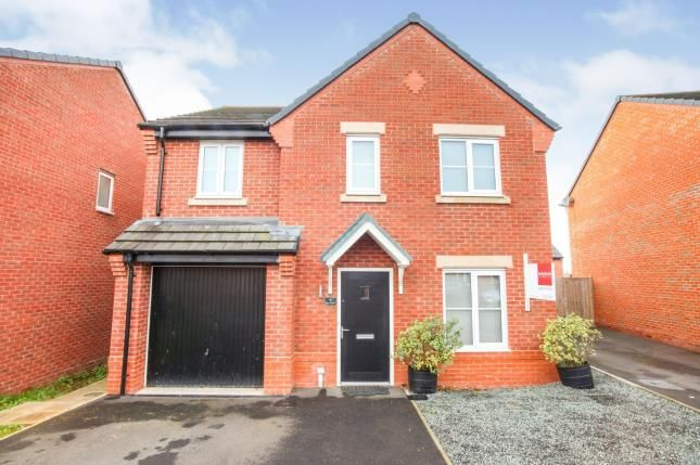 Thumbnail Detached house for sale in Gregory Crescent, Winsford, Cheshire
