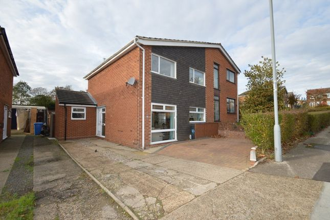 Thumbnail Semi-detached house for sale in Chatsworth Crescent, Ipswich