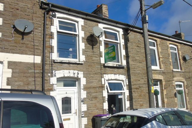 Thumbnail Terraced house for sale in Bush Terrace, Pantygasseg, Pontypool