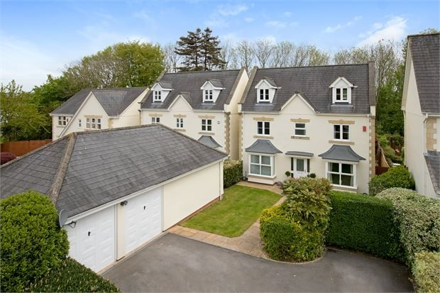 Thumbnail Detached house for sale in Orleigh Park, Newton Abbot, Devon.