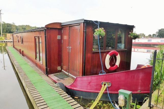 Thumbnail Houseboat for sale in Fettlers Wharf Marina, Station Road, Rufford, Ormskirk