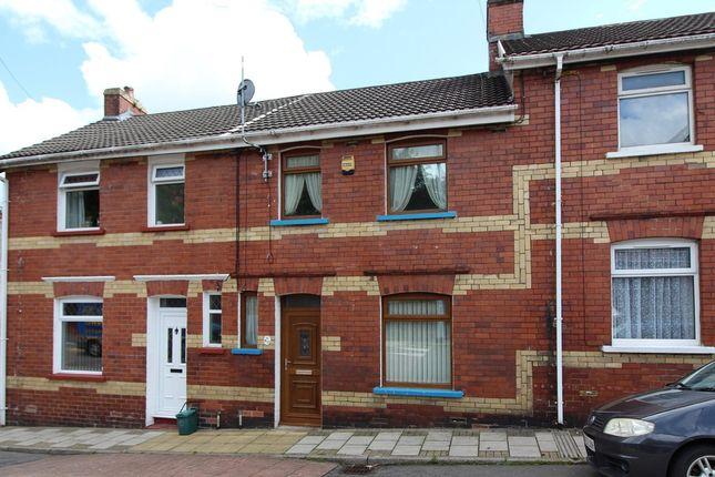 Thumbnail Terraced house to rent in Greenfield, Newbridge, Newport