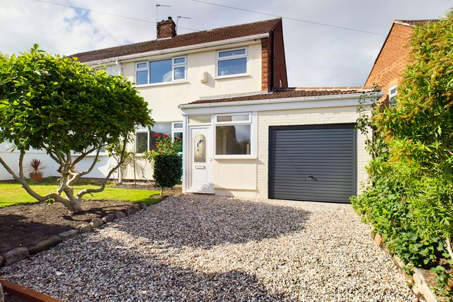 Thumbnail Semi-detached house for sale in Village Road, Bebington, Wirral