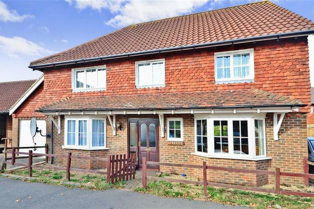Thumbnail Detached house for sale in Curlew Place, Hawkinge, Folkestone, Kent
