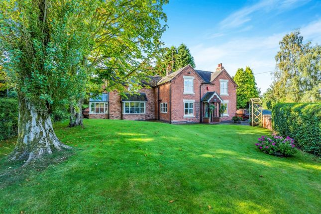 Thumbnail Detached house for sale in Silver Lane, Marchington, Uttoxeter